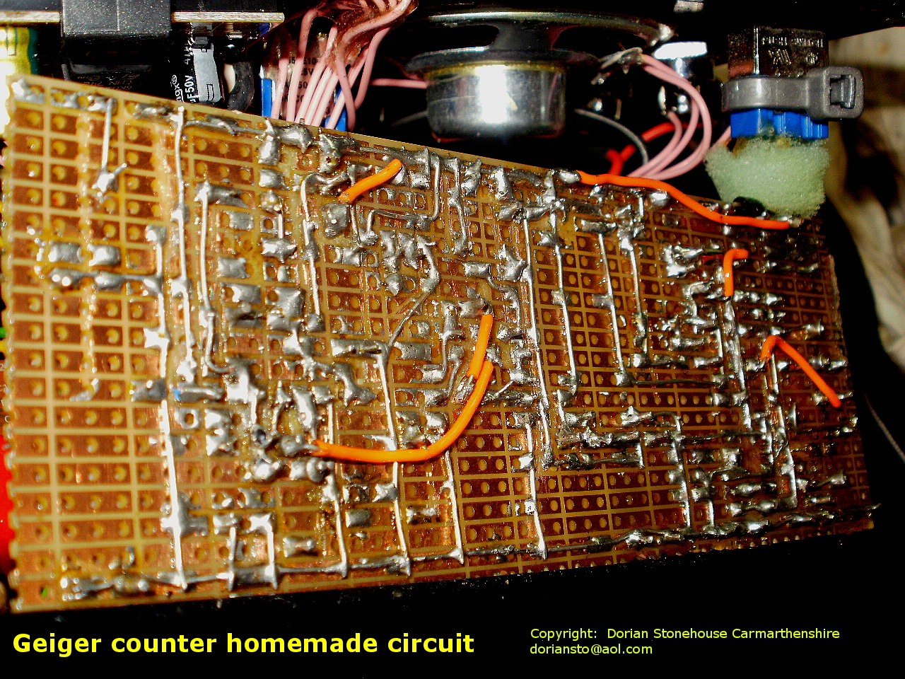 Geiger Counter Home Made Easy Read Si 8b Russian Pancake Detector Circuit Hack Simply Homemade Uses Soviet Era