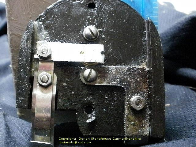 The tempered metal strips which make up the on/off switch are usually badly rusted, so need replacing.